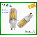 TD-G9-LED filament-4W Dimmable