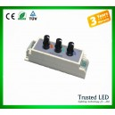 Three routes knob dimmer controller
